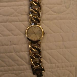 Anne Klein Gold Link Watch